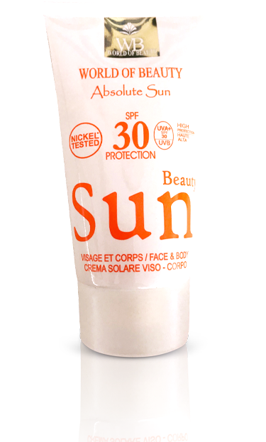 SPF 30 UV Protection - World of Beauty