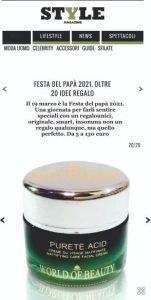 Style Corriere.it - Purete Acid