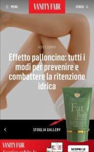 Vanity Fair - Fat Body Cream